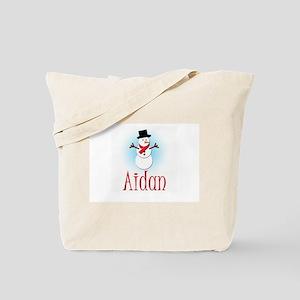 Snowman - Aidan Tote Bag