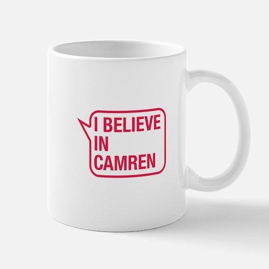 I Believe In Camren Mug