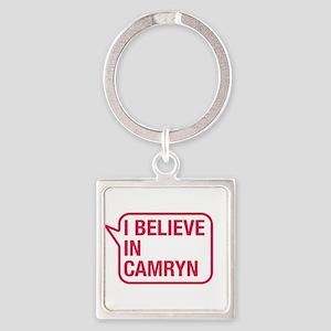 I Believe In Camryn Keychains