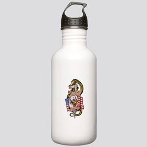 Death Before Dishonor Water Bottle