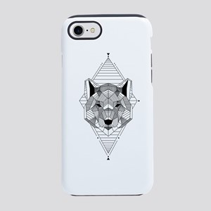polygon wolf iPhone 7 Tough Case