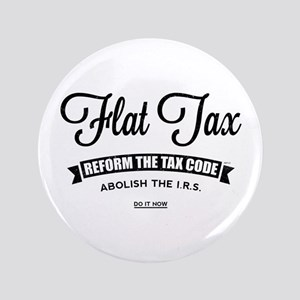 "Flat Tax 3.5"" Button"