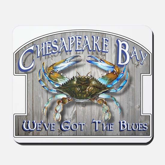 Chesapeake Bay Blues Mousepad
