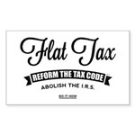 Flat Tax Sticker