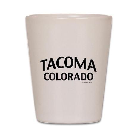Tacoma Colorado Shot Glass