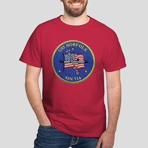 SSN 714 USS Norfolk Dark T-Shirt