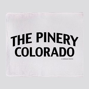 The Pinery Colorado Throw Blanket