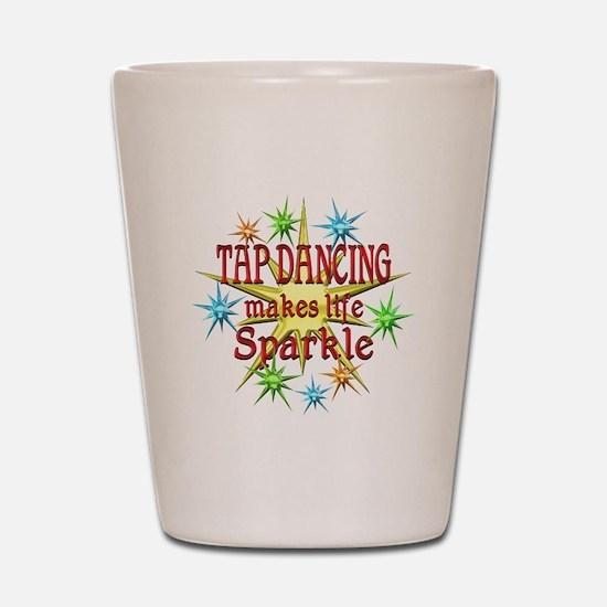 Tap Dancing Sparkles Shot Glass