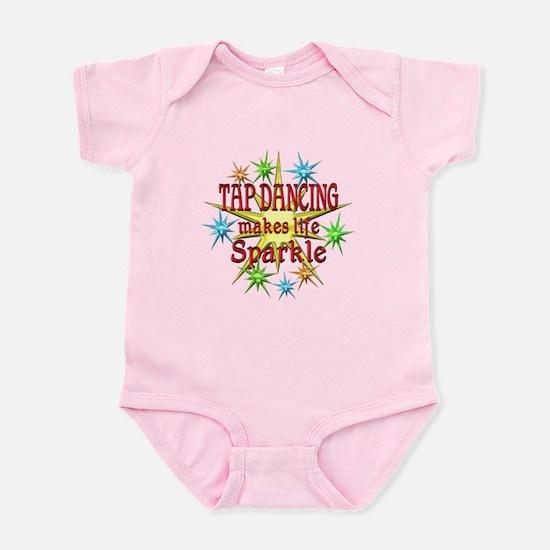 Tap Dancing Sparkles Infant Bodysuit