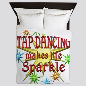 Tap Dancing Sparkles Queen Duvet