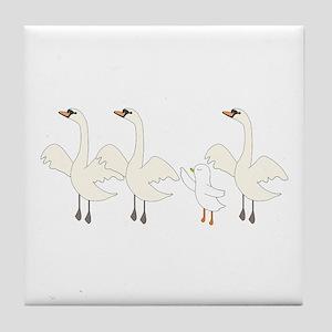 Swan Lake Tile Coaster