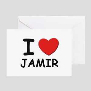 I love Jamir Greeting Cards (Pk of 10)