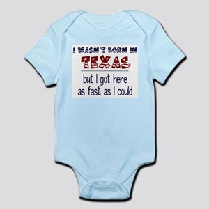 Not Born in Texas But Body Suit