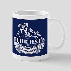 Ullr Fest Mountains Blue Mug