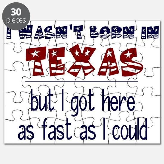 Not Born in Texas But Puzzle