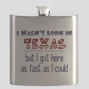 Not Born in Texas But Flask