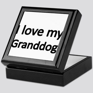 I love my Granddog Keepsake Box