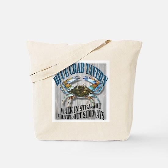 Blue Crab Tavern Tote Bag