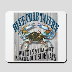 Blue Crab Tavern Mousepad