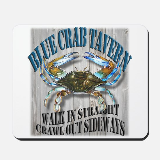 Blue Crab Tavern Mousepad