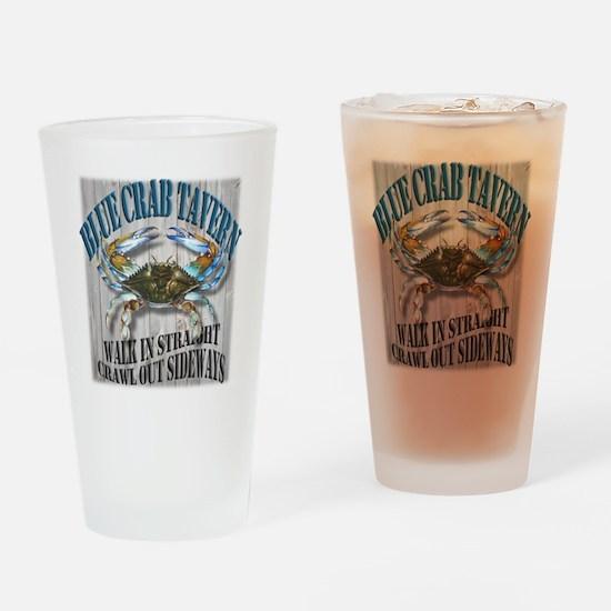 Blue Crab Tavern Drinking Glass