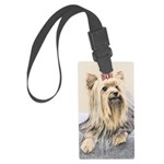 Yorkshire Terrier Large Luggage Tag