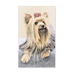 Yorkshire Terrier 35x21 Wall Decal