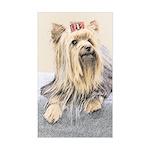 Yorkshire Terrier Sticker (Rectangle)