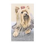 Yorkshire Terrier Sticker (Rectangle 50 pk)