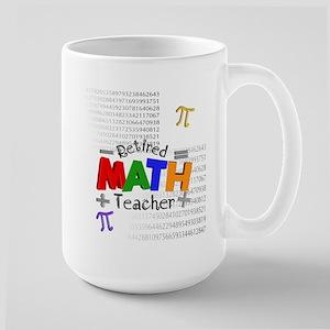 Retired Math Teacher 1 Mug