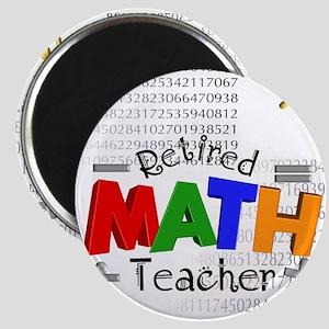 Retired Math Teacher 1 Magnet