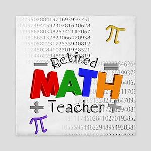 Retired Math Teacher 1 Queen Duvet