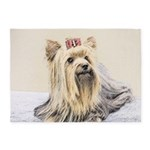 Yorkshire Terrier 5'x7'Area Rug