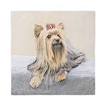 Yorkshire Terrier Queen Duvet