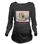 Yorkshire Terrier Long Sleeve Maternity T-Shirt
