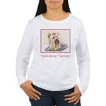Yorkshire Terrier Women's Long Sleeve T-Shirt
