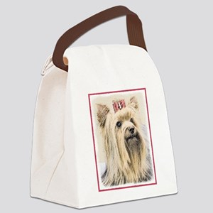 Yorkshire Terrier Canvas Lunch Bag