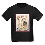 Yorkshire Terrier Kids Dark T-Shirt