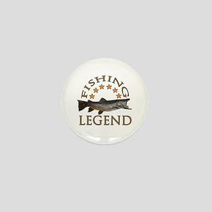 Fishing legend Mini Button