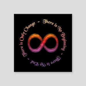 Infinity Is Change Sticker