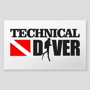 Technical Diver Sticker