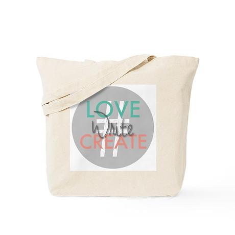 #LoveWriteCreate Tote Bag