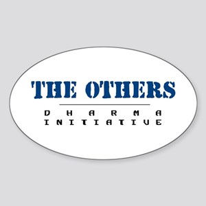 The Others - Dharma Initiative Oval Sticker