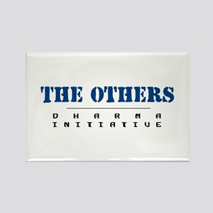 The Others - Dharma Initiative Rectangle Magnet