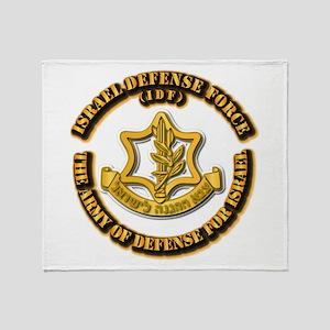 Israel Defense Force - IDF Throw Blanket