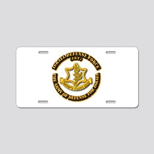 Israel Defense Force - IDF Aluminum License Plate