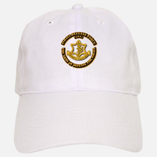 Israel Defense Force - IDF Baseball Baseball Cap