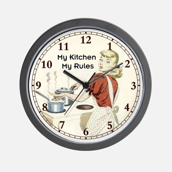 Kitchen Clocks | Kitchen Wall Clocks | Large, Modern, Kitchen Clocks