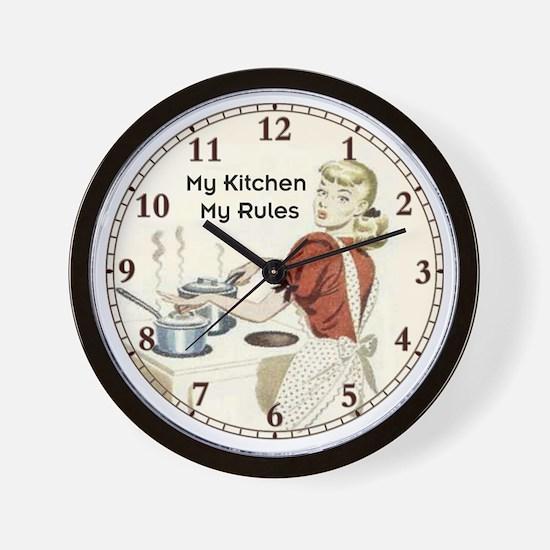 My Kitchen Wall Clock
