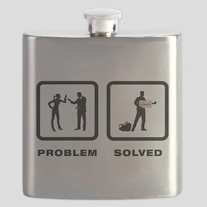 Hitchhiking Flask